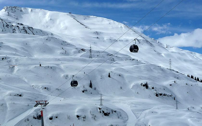 St Anton ski area