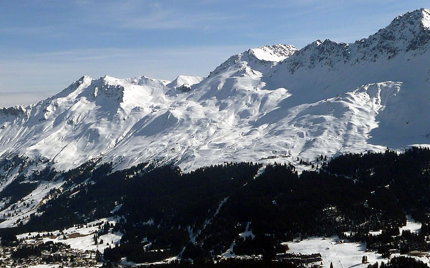 Lenzerheide Ski Resort in Switzerland