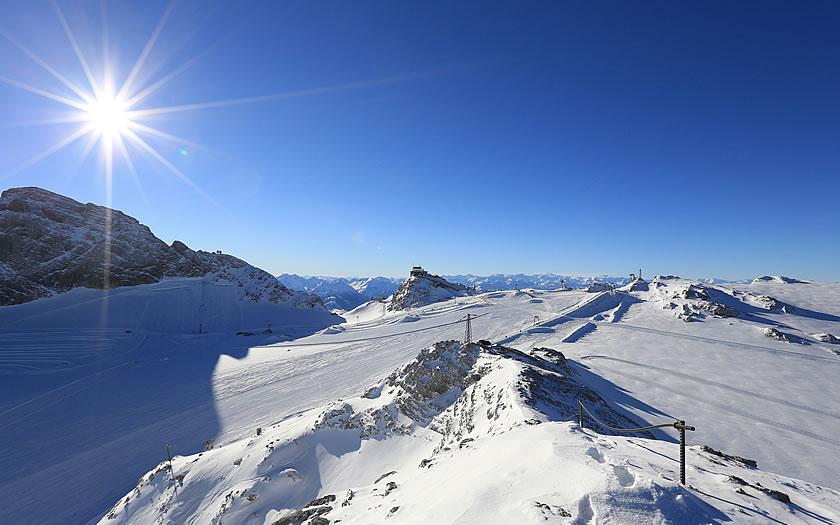 Dachstein Glacier skiing, Austria