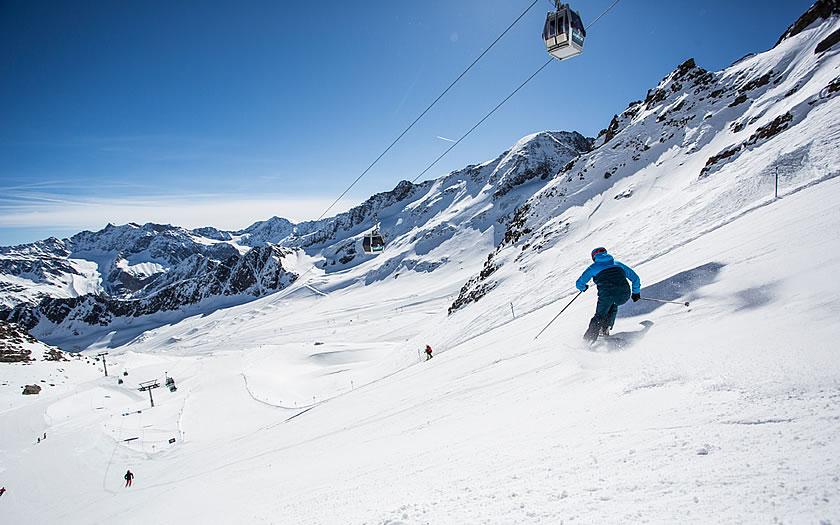 Kaunertal Glacier in Austria