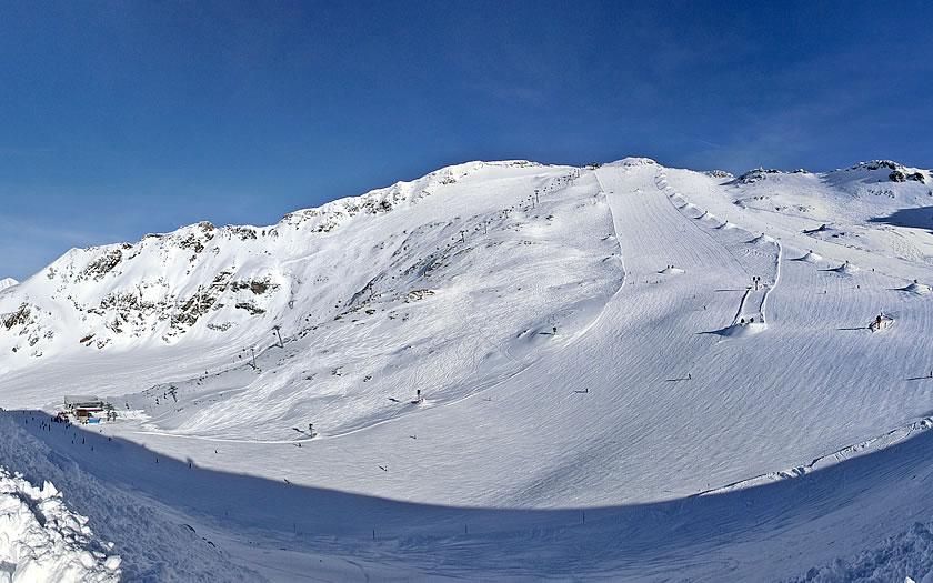 Mölltaler Glacier in Carinthia