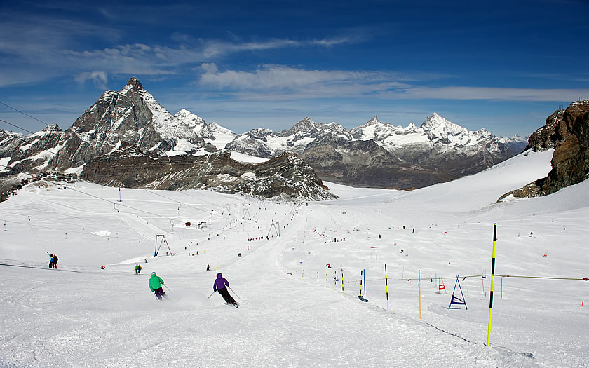 Summer Skiing in Zermatt