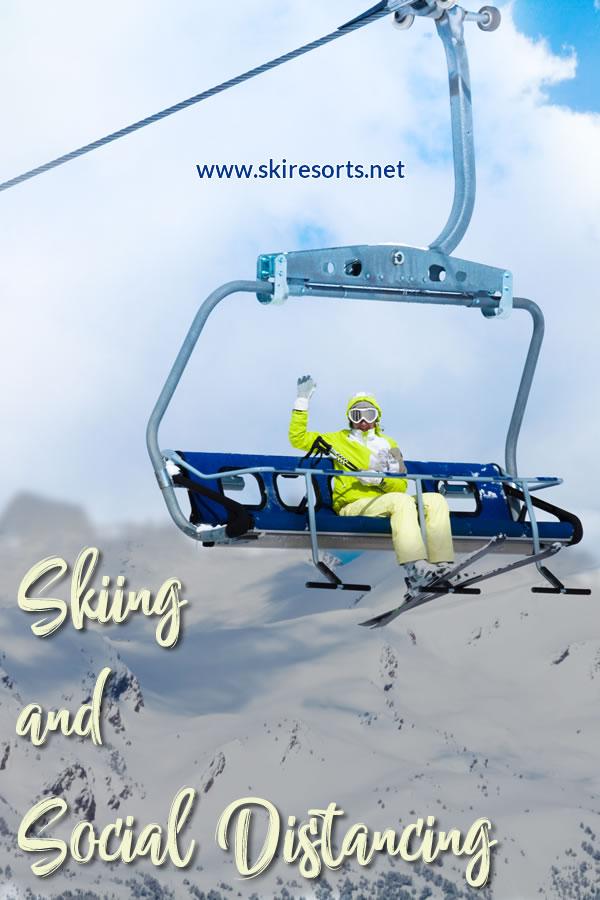 Skiing and social distancing