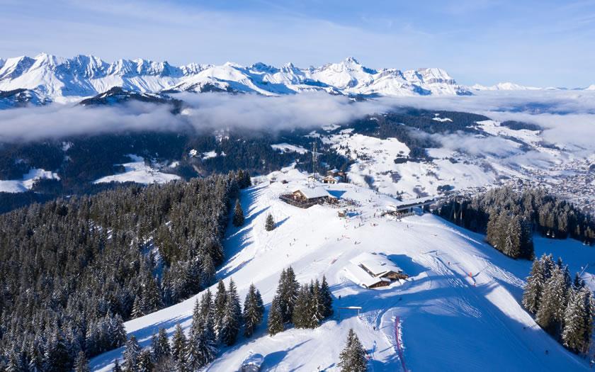 Megeve skiing near Geneva