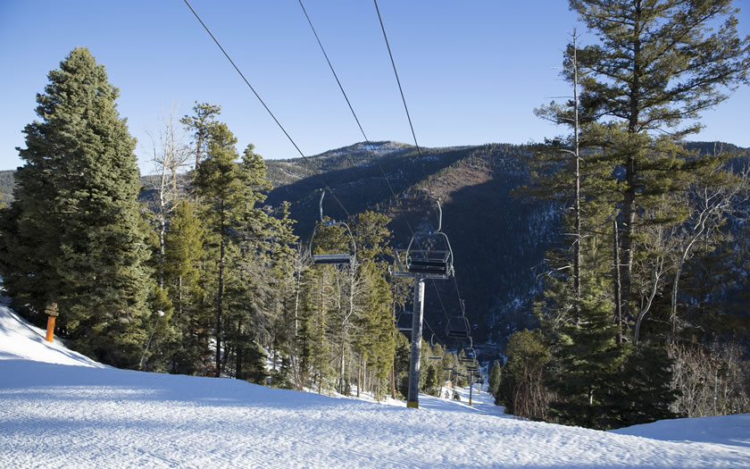 Sipapu Ski Resort in New Mexico