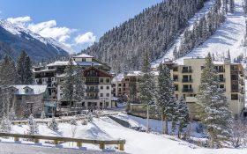 The base village at Taos Ski Valley