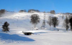 Boyne Highlands ski area, Michigan