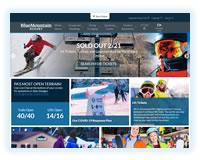 Blue Mountain ski resort in Pennsylvania
