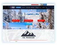 Pebble Creek ski area in Idaho