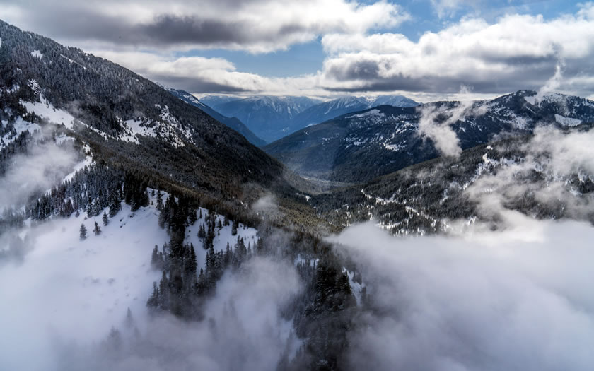 The proposed site of the Alpine Village base at Bridal Veil Mountain Resort